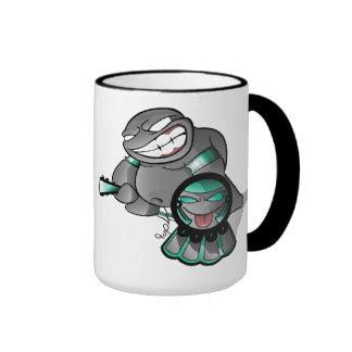 Aztec Lil Fat Belly Ringer Mug