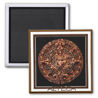 AZTEC MAGNETIC MAGIC Collection 2 Inch Square Magnet