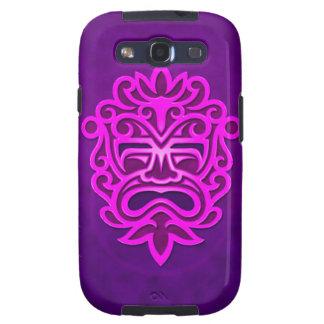 Aztec Mask Design – purple Samsung Galaxy SIII Cases