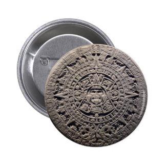 Aztec MAYAN CALENDAR Stone - December 21, 2012 Pins
