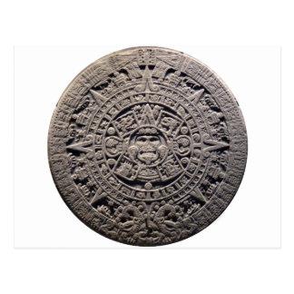 Aztec MAYAN CALENDAR Stone - December 21, 2012 Postcard