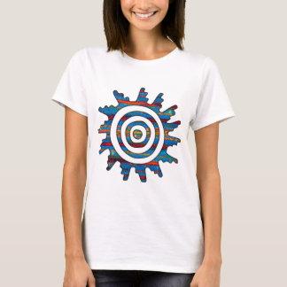 Aztec Mayan Multi-Coloured Sundial T-Shirt