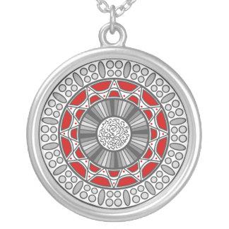 Aztec Meets Alien Necklace