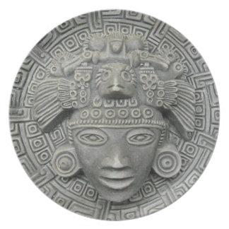 Aztec Melamine Plate