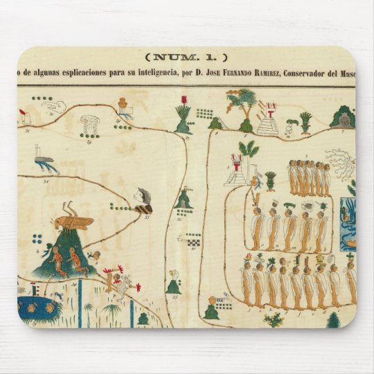 Aztec Mexico Valley 2 Mouse Pad