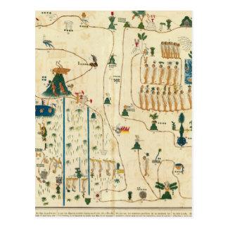 Aztec Mexico Valley 2 Postcard