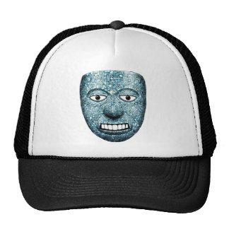 Aztec Mosaic Mask Trucker Hat