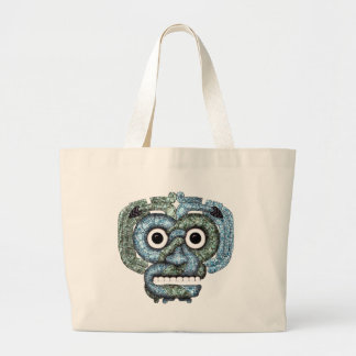Aztec Mosaic Tlaloc Mask Bags