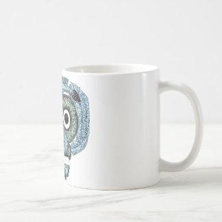 Aztec Mosaic Tlaloc Mask Coffee Mug