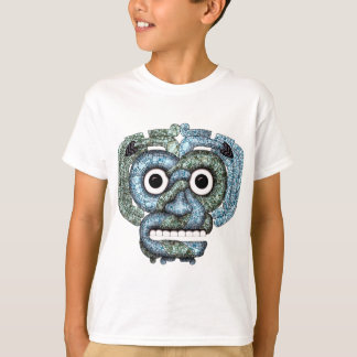 Aztec Mosaic Tlaloc Mask T-Shirt