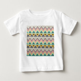 Aztec Native American Tribal Zigzags Design Style Baby T-Shirt