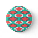 Aztec Native American Turquoise and Pink Pattern