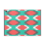 Aztec Native American Turquoise and Pink Pattern iPad Mini Covers