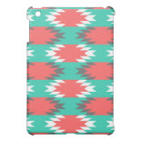 Aztec Native American Turquoise and Pink Pattern Cover For The iPad Mini