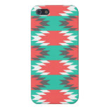 Aztec Native American Turquoise and Pink Pattern Covers For iPhone 5