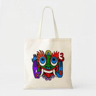 Aztec Pagan God Tote Bag