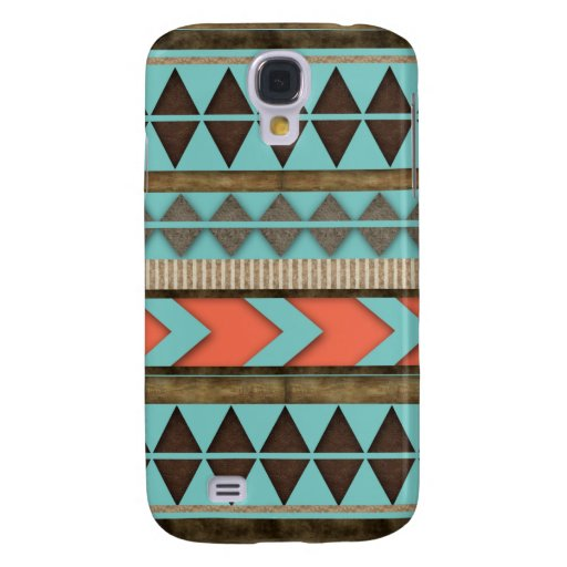 Aztec Pattern Gift Galaxy S4 Cover