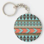 Aztec Pattern Gift Keychain