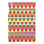 Aztec pattern iPad mini cases
