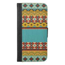 Aztec Pattern iPhone 6/6s Wallet Case