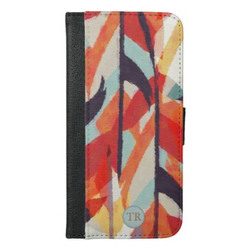 Aztec Pattern iPhone 6/6s Plus Wallet Case
