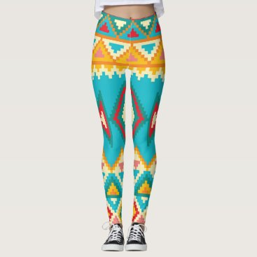 Aztec Themed AZTEC Pattern Leggings