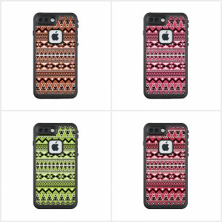 Aztec Pattern LifeProof FRĒ iPhone 7 Plus Case