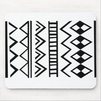 Aztec pattern mousepad