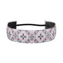Aztec Pattern Non-Slip Headband Elastic Headbands