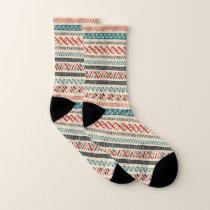 Aztec Pattern socks