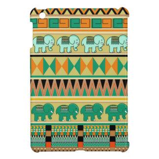 Aztec Patterns & little Elephants iPad Mini case