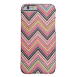 Aztec Pink Red Green Chevron Girly Pattern iPhone 6 Case