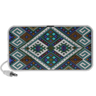Aztec Pixel Pattern. A Must have trend. Notebook Speakers