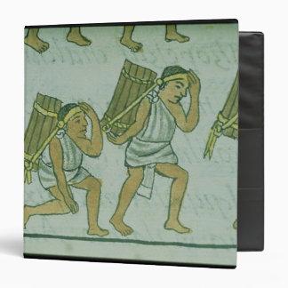 Aztec porters, from the 'Florentine Codex' Binder