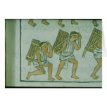 Aztec porters, from the 'Florentine Codex' Card