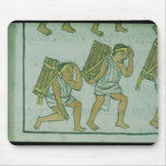 Aztec porters, from the 'Florentine Codex' Mouse Pad