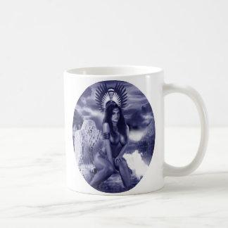 Aztec Princess Classic White Coffee Mug
