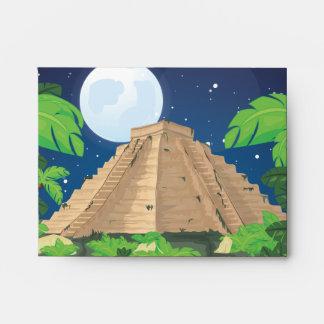 Aztec Pyramid Envelope