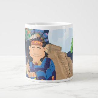 Aztec Pyramid Giant Coffee Mug