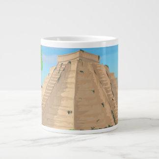 Aztec Pyramid Large Coffee Mug