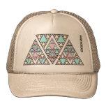 aztec pyramid party next anthem trucker hat
