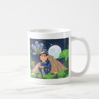 Aztec Pyramid People Coffee Mug