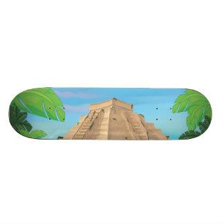 Aztec Pyramid Skateboard