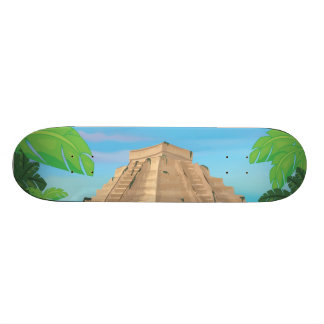 Aztec Pyramid Skateboard Deck