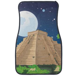 Aztec Pyramid Car Mat