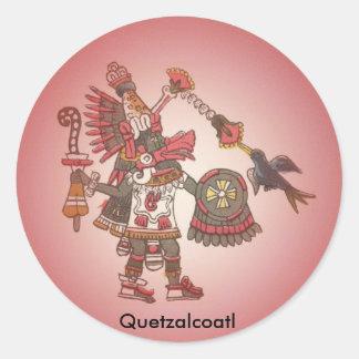 Aztec Quetzalcoatl sticker