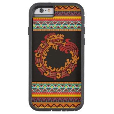 Aztec Themed (aztec red dragon case) tough xtreme iPhone 6 case