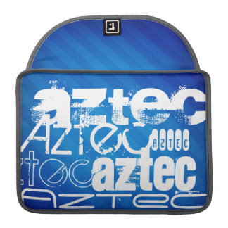Aztec; Royal Blue Stripes MacBook Pro Sleeve