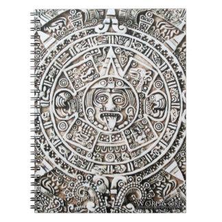Aztec Sacred Calendar Notebook