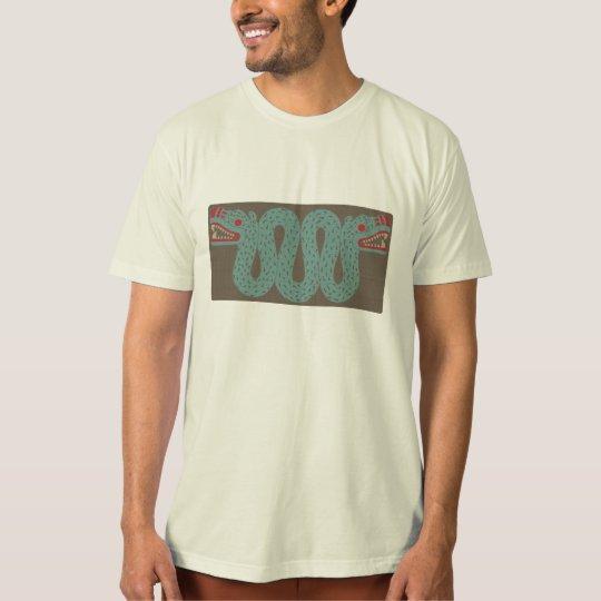 Aztec Serpent American Apparel Organic T-Shirt